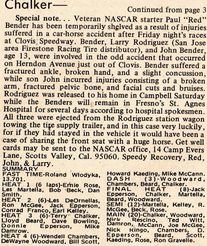 speedway on october 28 1961 he set a new one lap track record of 16 13
